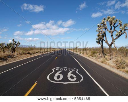 Rota 66 Mojave Desert