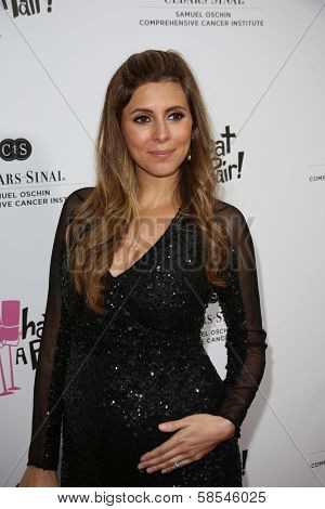 Jamie Lynn Sigler at the What a Pair Benefit 2013, Eli Broad Stage, Santa Monica, CA 04-13-13