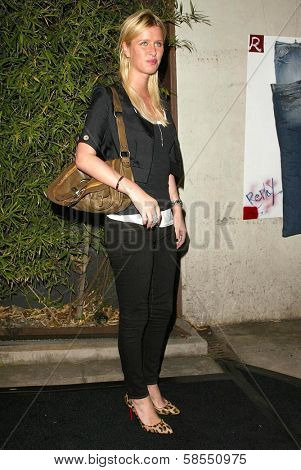 LOS ANGELES - APRIL 24: Nicky Hilton at the Brandon Davis and Replay celebrate store opening and the launch of The Brandon Davis Jean at Falcon on April 24, 2006 in Los Angeles, CA.