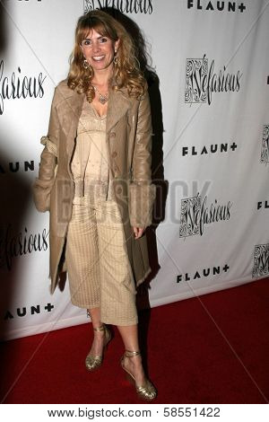 HOLLYWOOD - APRIL 06: Julia Verdin at Flaunt Magazine Presents Nefarious Fine Jewelry Hosted by Velvet Revolver at Black Steel Restaurant on April 06, 2006 in Hollywood, CA.