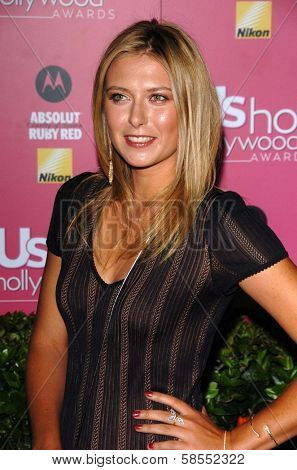 HOLLYWOOD - APRIL 26: Maria Sharapova at the US Weekly Hot Hollywood Awards at Republic Restaurant and Lounge on April 26, 2006 in West Hollywood, CA.