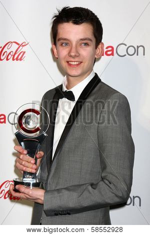 Asa Butterfield at the CinemaCon Big Screen Achievement Awards , Caesars Palace, Las Vegas, NV 04-18-13