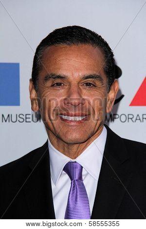 Antonio Villaraigosa at the MOCA Gala, MOCA Grand Avenue, Los Angeles, CA 04-20-13
