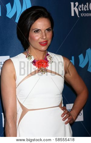 Lana Parrilla at the 24th Annual GLAAD Media Awards, JW Marriott, Los Angeles, CA 04-20-13