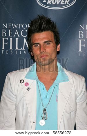 NEWPORT BEACH - APRIL 20: Jeremy Jackson at the 7th Annual Newport Beach Film Festival Opening Night Screening of