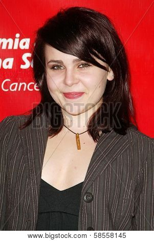 HOLLYWOOD - APRIL 06: Mae Whitman at the 2nd Annual Celebrity Rock 'N' Bowl Tournament at Lucky Strike Lanes on April 06, 2006 in Hollywood, CA.