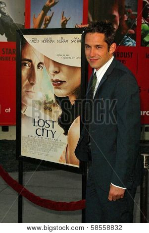 HOLLYWOOD - APRIL 17: Enrique Murciano at the Los Angeles Premiere of
