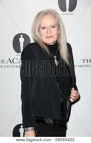 Penelope Spheeris at the Academy Of Motion Picture Arts And Sciences Hosts A