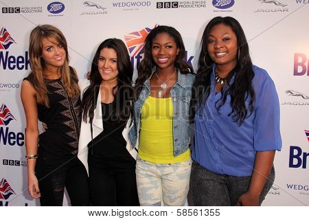 Kree Harrison, Angie Miller, Amber Holcomb, Candice Glover at