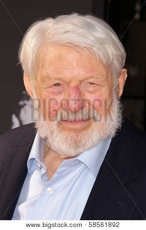 Theodore Bikel at the TCM Classic Film Festival Opening Night Red Carpet Funny Girl, Chinese Theater, Hollywood, CA 04-25-13