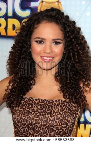 Madison Pettis at the 2013 Radio Disney Music Awards, Nokia Theater, Los Angeles, CA 04-27-13