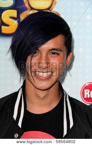 Cole Pante at the 2013 Radio Disney Music Awards, Nokia Theater, Los Angeles, CA 04-27-13