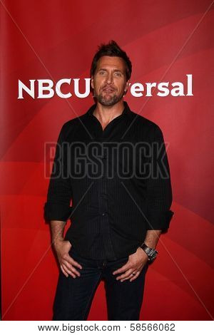 Curt Doussett at the 2013 NBC Universal Summer Press Day , Langham Huntington Hotel, Pasadena, CA 04-22-13