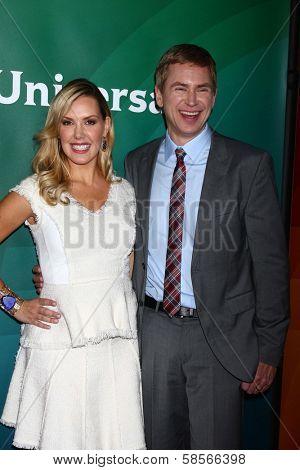 Kendra Scott, Pat Kiernan at the 2013 NBC Universal Summer Press Day , Langham Huntington Hotel, Pasadena, CA 04-22-13