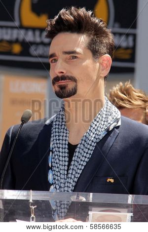 Kevin Richardson at the