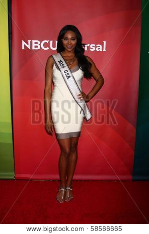 Nana Meriwether at the 2013 NBC Universal Summer Press Day , Langham Huntington Hotel, Pasadena, CA 04-22-13
