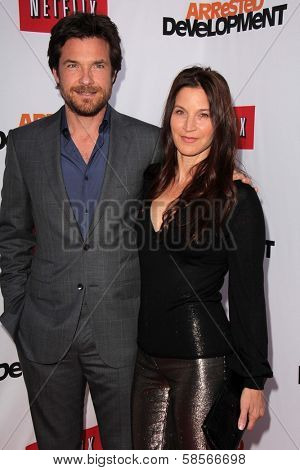Jason Bateman, Amanda Anka at the