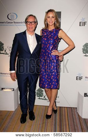 Tommy Hilfiger and wife at An Unforgettable Evening Presented by Saks Fifth Avenue, Beverly Wilshire Hotel, Beverly Hills, CA 05-02-13