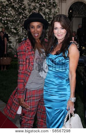 Julie Brown and Lisa Vanderpump at