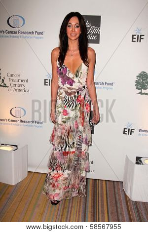 Melanie Mar at An Unforgettable Evening Presented by Saks Fifth Avenue, Beverly Wilshire Hotel, Beverly Hills, CA 05-02-13