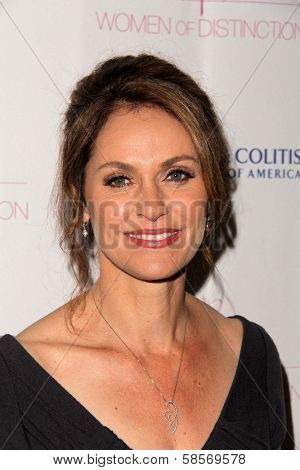 Amy Brenneman at the Women of Distinction Luncheon honoring Amy Brenneman, Beverly Hills Hotel, Beverly Hills, CA 05-08-13