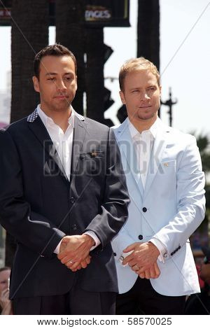 Howie Dorough, Brian Littrell at the