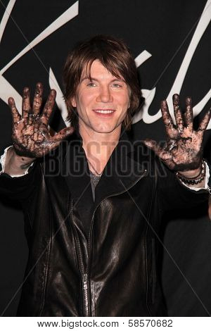John Rzeznik at the Goo Goo Dolls RockWalk Induction, Guitar Center, Hollywood, CA 05-07-13