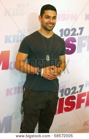 Wilmer Valderrama at the 2013 Wango Tango concert produced by KIIS-FM, Home Depot Center, Carson, CA 05-11-13
