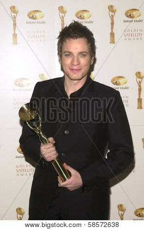 Ewan McGregor at the 6TH ANNUAL GOLDEN SATELLITE AWARDS:  Thrown by the International Press Academy, honoring Moulin Rouge and Karl Malden at St. Regis Hotel, Century City, 01-19-02