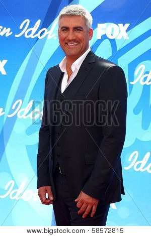 Taylor Hicks at the American Idol Season 12 Finale Arrivals, Nokia Theater, Los Angeles, CA 05-16-13