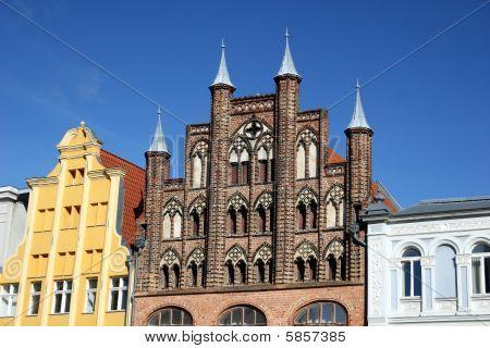 Stralsund Rathausmarkt