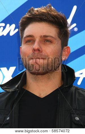 Chris Richardson at the American Idol Season 12 Finale Arrivals, Nokia Theater, Los Angeles, CA 05-16-13