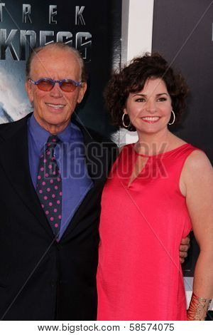 Peter Weller and wife Shari Stowe at the