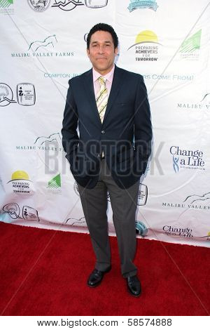 Oscar Nunez at the Compton Jr, Posse Gala honoring Patricia Heaton and Portia de Rossi, Burbank Equestrian Center, Burbank, CA 05-18-13