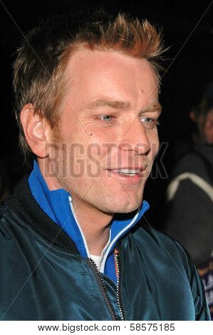 Ewan McGregor at the premiere of Long Way Round at Buffalo Club, CA 10-19-04