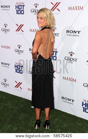 Peta Murgatroyd at the 2013 Maxim Hot 100 Party, Vanguard, Hollywood, CA 05-15-13