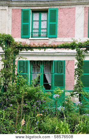 The house of the famous Painter Claude Monet