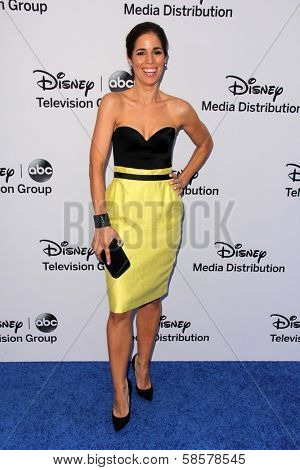 Ana Ortiz at the Disney Media Networks International Upfronts, Walt Disney Studios, Burbank, CA 05-19-13