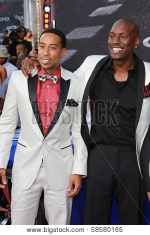 Ludacris and Tyrese Gibson at the