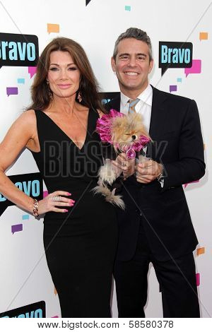 Andy Cohen and Lisa Vanderpump at the Bravo Media's 2013 For Your Consideration Emmy Event, Leonard H. Goldenson Theater, North Hollywood, CA 05-22-13