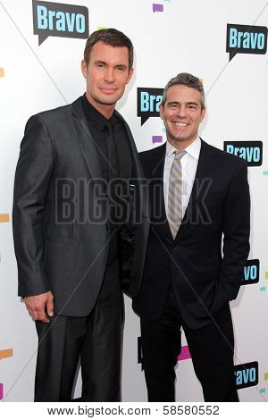 Jeff Lewis, Andy Cohen at the Bravo Media's 2013 For Your Consideration Emmy Event, Leonard H. Goldenson Theater, North Hollywood, CA 05-22-13