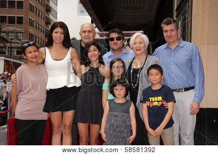 Olympia Dukakis and family at the Olympia Dukakis Star on the Hollywood Walk of Fame Ceremony, Hollywood, CA 05-24-13