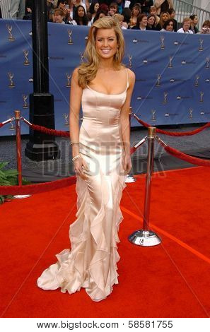 HOLLYWOOD - APRIL 28: Jennifer Murphy at The 33rd Annual Daytime Emmy Awards at Kodak Theatre on April 28, 2006 in Hollywood, CA.