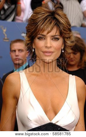 HOLLYWOOD - APRIL 28: Lisa Rinna at The 33rd Annual Daytime Emmy Awards at Kodak Theatre on April 28, 2006 in Hollywood, CA.