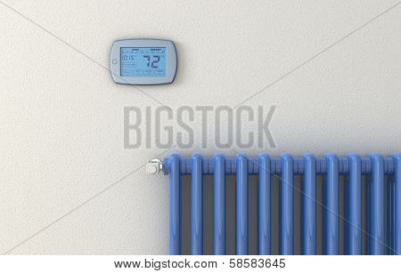 Radiator And Panel Thermostat