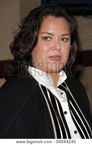 HOLLYWOOD - APRIL 28: Rosie O'Donnell in the press room at The 33rd Annual Daytime Emmy Awards at Kodak Theatre on April 28, 2006 in Hollywood, CA.