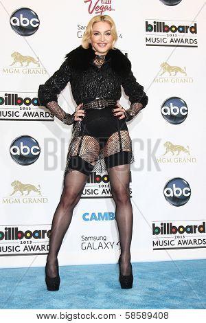 Madonna at the 2013 Billboard Music Awards Press Room, MGM Grand, Las Vegas, NV 05-19-13