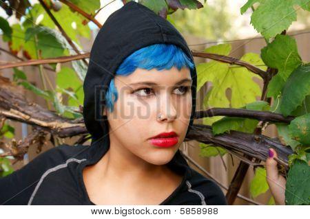 Trendy Blue Teenager