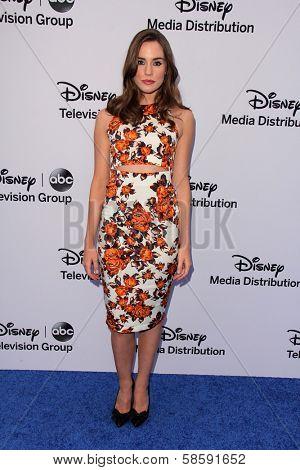Christa B. Allen at the Disney Media Networks International Upfronts, Walt Disney Studios, Burbank, CA 05-19-13