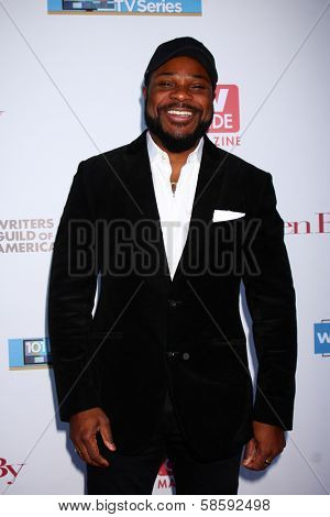 Malcolm-Jamal Warner at the WGA's 101 Best Written Series Announcement, Writers Guild of America Theater, Beverly Hills, CA 06-02-13
